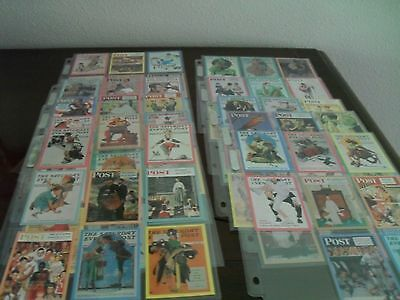 Trading cards - Saturday Evening Post- Norman Rockwell Cards
