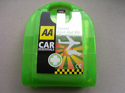AA Micro First Aid Kit For Car Cycling Travel Outdoors PUB03050 Plaster Eye Pads