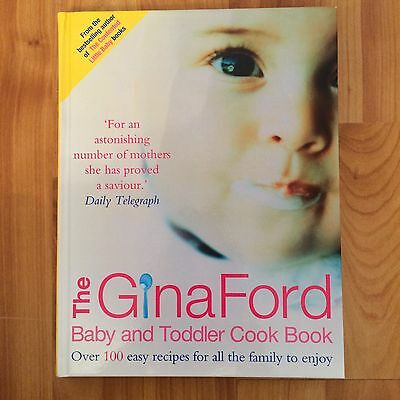 RRP £15.99 Gina Ford Baby And Toddler Cook Book