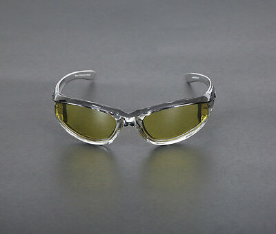 Yellow Blizzard- Yellow Lenses Riding Glasses