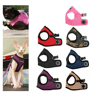 Puppia Soft Harness Vest,Cat harness, extra Soft harness for cats
