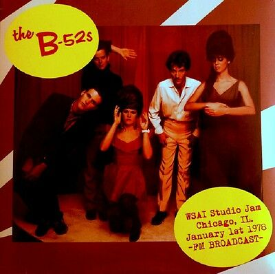 THE B-52'S WSAI Studio Jam Chicago - LP / Vinyl