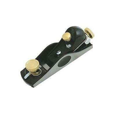 GA252444 633569 Silverline Block Plane No. 2 178 x 41mm Woodwork DIY Tool