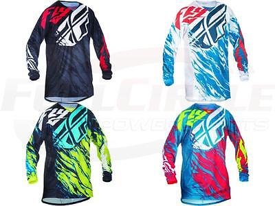 Fly Racing Kinetic Relapse Jersey Motocross Off-Road Dirt Riding MX/ATV/BMX/MTB