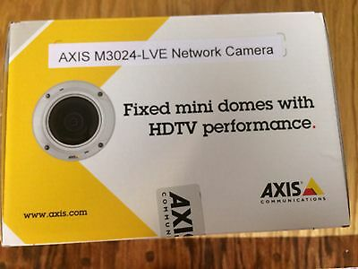 Axis M3024-LVE Network Security IP Dome Camera Part No. 0535-001 New