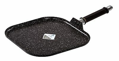 Nonstick Marble Coated Comal Griddle Pan – 11 Inch Stovetop Griddle Plate
