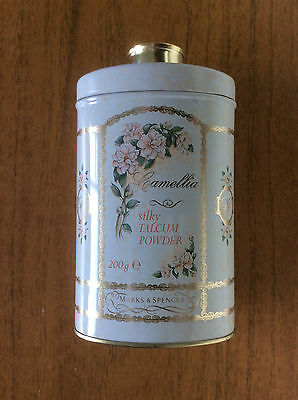 New Vintage Marks & Spencer St Michael Camellia Body Talcum Powder 200g 1993