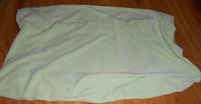 Pottery Barn Kids Green Chamois Changing Pad Cover Nursery Baby