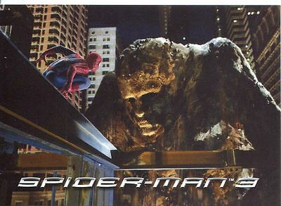 Spiderman 3 The Movie Sony Pictures Exclusive Sandman Card