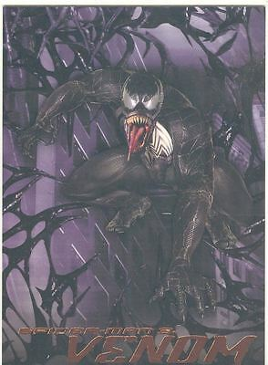 Spiderman 3 The Movie Venom Chase Card V4
