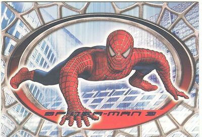 Spiderman 3 The Movie Red/Blue Spiderman Chase Card R3