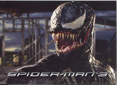 Spiderman 3 The Movie Sony Pictures Exclusive Venom Card