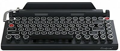 Qwerkywriter Typewriter Wireless Mechanical Keyboard With Integrated Tablet