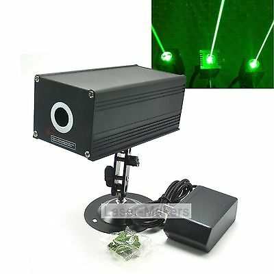 532nm 80mw Green Dot Thick Beam Laser Diode Module +12V Adapter+Holder Stage/Bar
