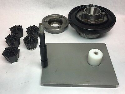 """Nice!! JACOBS AD50-74 ADAPTER 1-1/2""""-8 THD COLLET CHUCK 500 SERIES 5 COLLET SET"""