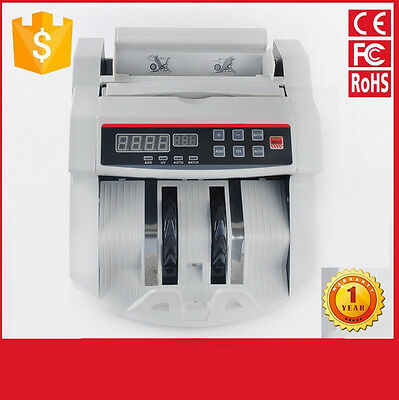 Automatic Digital Electronic AU MONEY Currency Counter Machine LED Display