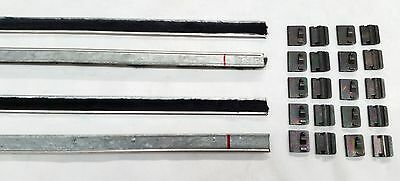 Ford Cortina Mk1 Lotus 2 Door Inner Outer Weather Strips Weatherstrips Clips