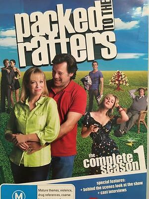 Packed To The Rafters : Complete Season 1 (DVD, 2009, 6-Disc Set)  Region 4