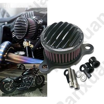 For Harley Sportster XL883 XL1200 1988-2015 Air Cleaner Intake Filter System Kit