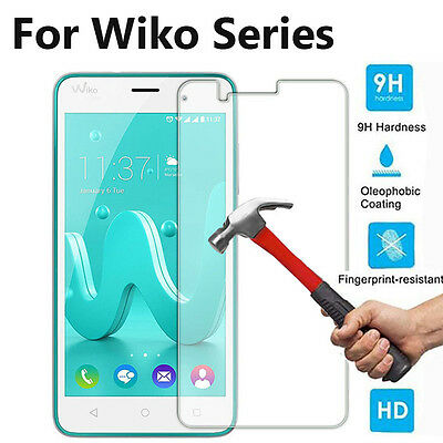 1~3PCS 2.5D 9H Premium Tempered Glass Screen Protector Film Skin For Wiko Series