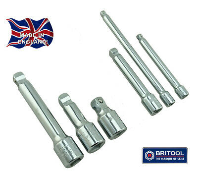 6 Piece Wobble Extension Bar Set Made In England From  Britool Hallmark