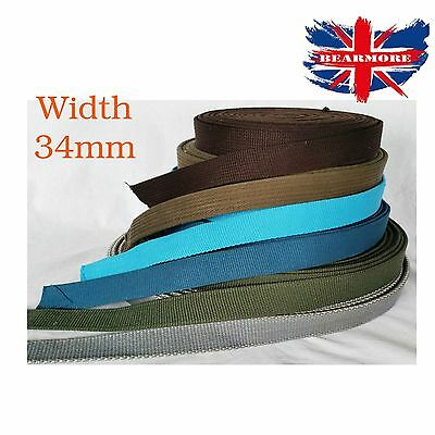 Off white color 30mm Wide Cotton Tape Canvas Soft reinforced tape upholstery