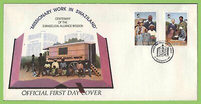 Swaziland 1992 Centenary of Evangelical Alliance Missions First Day Cover