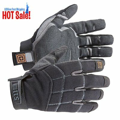 5.11 Tactical Station Grip Glove (Black, Medium) FREE SHIPPING top quality