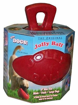 "Horsemens Pride - Dual Jolly Ball 8"" Red"