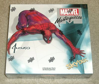 2016 Upper Deck Marvel Masterpieces Joe Jusko sealed 12-pack hobby box