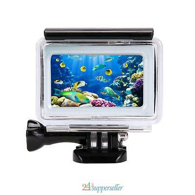 35m Diving Swimming Waterproof Touch Case Cover Housing for Xiaomi Yi 4K Camera