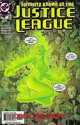 Formerly Known As The Justice League #4 (2003) Dc Comics