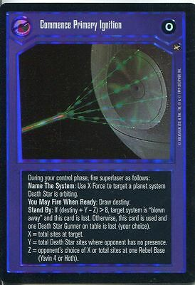 Star Wars CCG Reflections I Foil Card Commence Primary Ignition