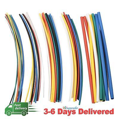 70pcs 5 Size Assortment 2:1 Heat Shrink Tubing Tube Sleeving Wrap Wire Cable New