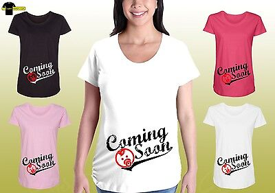 Funny Maternity Graphic Tee Shirt Cute Baby Design Maternity Pregnancy Shirt