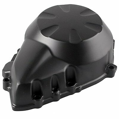Motorcycle Engine Crank Case Stator Cover For Kawasaki Z750 2007 2008 2009 Black