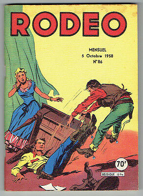 RODEO n°86 – Editions LUG – Octobre 1958 – TBE/NEUF