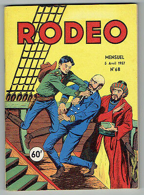 RODEO n°68 – Editions LUG – Avril 1957 – TBE proche NEUF
