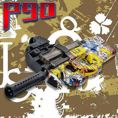 P90 Graffiti Electric Auto Toy Gun Funny Outdoors Toys Children CS Assault GO