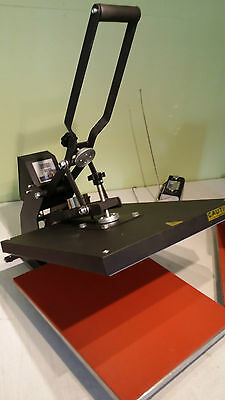 "Heat Press 20"" x 15"" High Pressure Semi Auto T-Shirt Transfer XY-010C1"