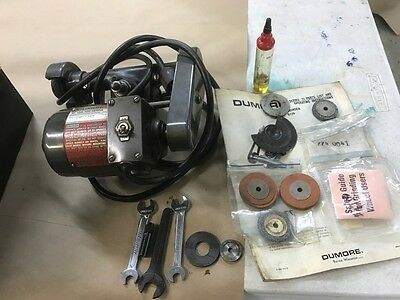 Dumore tool post grinder 11-011 W. case 8 to 11 inch lathes Atlas South Bend