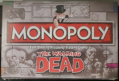Monopoly The Walking Dead Survival Edition Board Game