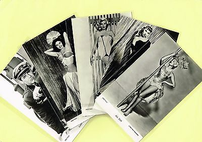Greetings Cards -  Film Stars 1950s Postcard Size Cards issued in the UK List #2