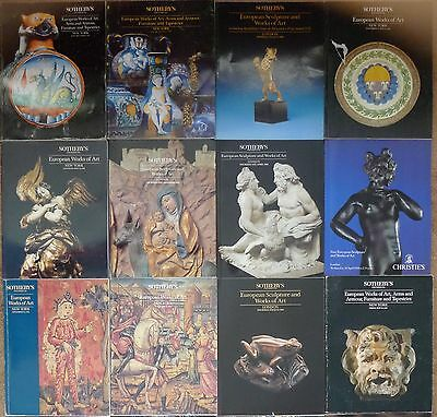 Sotheby's Christie's European Works of Art Catalogs Lot of 12