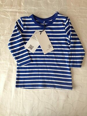 Name It Baby Boy's Long Sleeve 95% Organic Cotton Top( 4-6Monts)