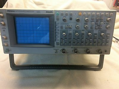 Fluke CombiScope PM3394A 4 Channel 200 MHz Analog / Digital Oscilloscope