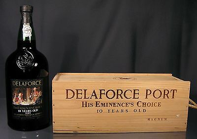 Delaforce 10 Years His Eminence´s Choice Port 1989 1,5L Magnum 20% + Holzkiste