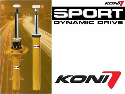 KONI Shock Absorbers Yellow VA Fiat 500 1.4, 1.3 Multijet & 1.4 Abarth