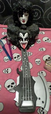 KISS Axe Bass Incense Burner 2004 + Sealed Incense Pack Gene Simmons Ace Frehley