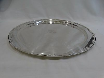 Tiffany & Co Sterling Silver Serving Tray 15""